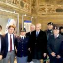 Il Capo della Polizia Alessandro Pansa  a Palazzo Vecchio