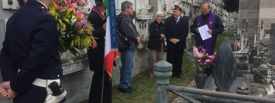 Commemorato  Carlo Reggioli, vice questore di PS