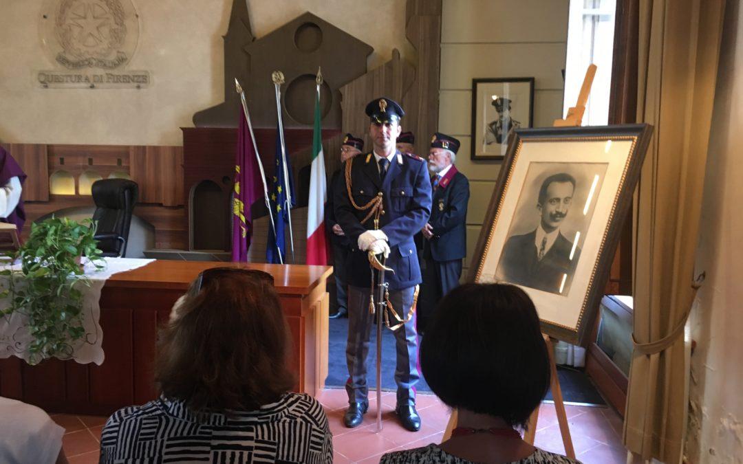 Giuseppe Cangiano commemorato in Questura