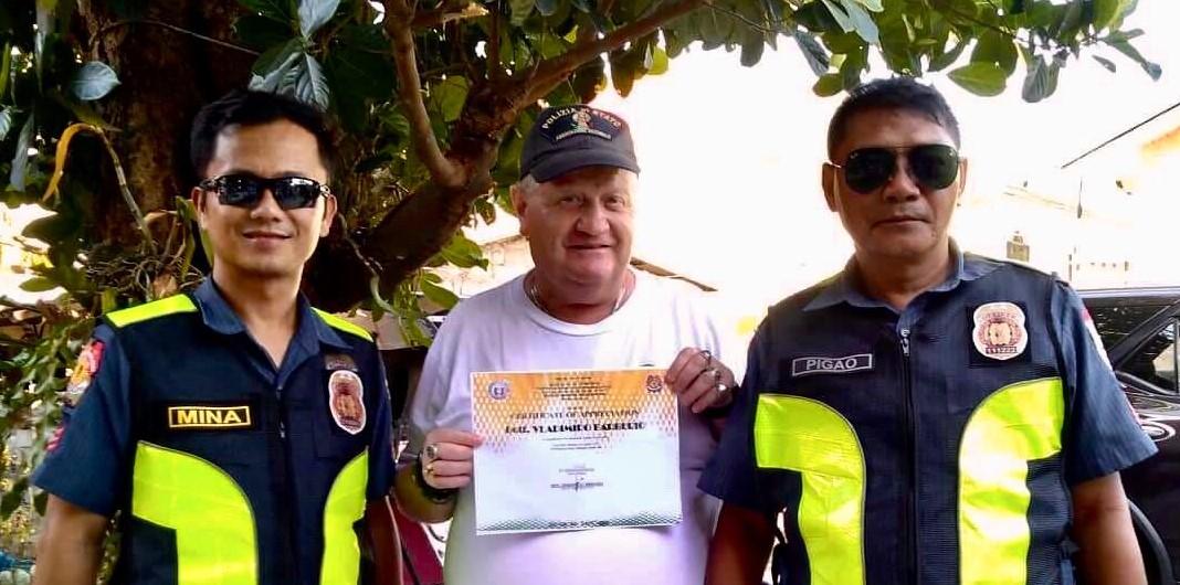 L'ANPS si fa conoscere nelle Filippine