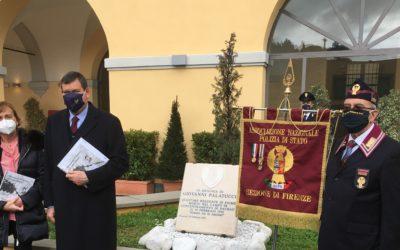 A Firenze una targa in marmo ricorda Giovanni Palatucci